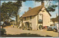The Old Albion, Crantock, Cornwall, c.1960s - Postcard