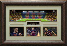 FC Barcelona Stadium Panoramic Display.