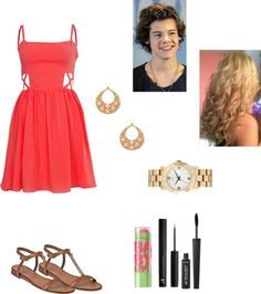 """""""Walk with Harry"""" by browniebrunie ❤ liked on Polyvore"""