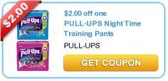 5 New Baby coupon - Huggies, Pullups, Johnson's, Goodnites - Save $7.50!