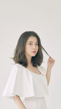 Haircuts For Medium Hair, Medium Hairstyles, Girl Hairstyles, Iu Short Hair, Iu Hair, Beautiful Japanese Girl, Beautiful Asian Girls, Hair Sensation, Shot Hair Styles