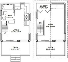 Floorplans on 2 bedroom starter home plans