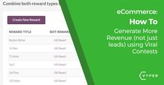 How To Get eCommerce Growth from Viral Contests
