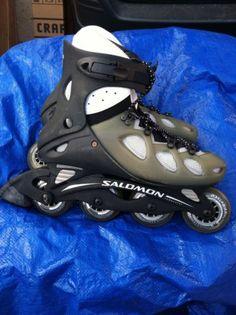 Salomon Composite Men's Inline Skates Size 9 US Roller Blades | eBay