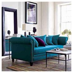 Teal + purple = beautiful!!!