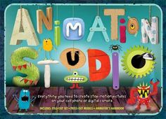 ANIMATION STUDIO: EVERYTHING YOU NEED TO KNOW TO CREATE STOP-MOTION PICTURES ON YOUR CELL PHONE OR DIGITAL CAMERA by Helen Piercy. Piercy, an animator who runs workshops for kids, has created a fantastic kit that includes sets and props, as well as an easy to read book about how to make stop-motion and several other kinds of animated movies! This will definitely keep the kids busy this Winter break!