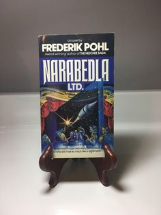A personal favorite from my Etsy shop https://www.etsy.com/listing/505081899/1989-narabedla-ltd-paperback-novel-by