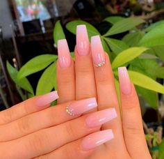 39 Summer Nails that you need to try. The hottest trends and colors for nails in 2019 including fluo nails, rainbow, classy, bright ombre and simple pretty styles nails too. Nails 39 Gorgeous Summer Nails You Need to Try Acrylic Nails Coffin Short, Simple Acrylic Nails, Pink Acrylic Nails, Pink Acrylics, Pastel Nails, Acrylic Nails Coffin Ombre, Ombre French Nails, Bright Pink Nails, Cute Pink Nails