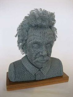 Knitted Einstein :)