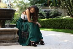 Zoe Kravitz, loving the long skirt