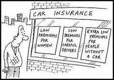 Auto Insurance Premiums by gender :))