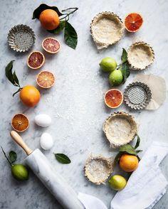 Signe Bay (Photographer & Stylist): Citrus & Tartlets