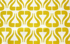 "Home fabric Cotton Linen-  "" I Heart Pipe- Mustard"" (Fat Quarter 27""x18"") READY TO SHIP"