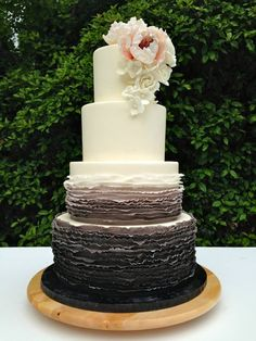 Classic colors and traditionally styled wedding cakes are perfect for a simple or vintage wedding. Yes, these cakes feature classic styles, but their understated details provide for a stunning wedding feature. Check out these cakes and get inspired for you classic yet beautiful wedding! Featured Cake: Whipped Bakeshop Featured Cake: The Cocoa Cakery Featured Cake: Sweet On […]