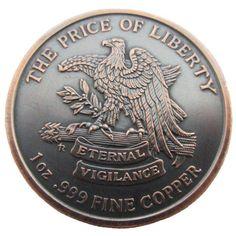 Coins & Paper Money Special Section Molon Labe 1 Oz Copper Round .999 Fine Copper Products Hot Sale