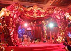 Exotic Elephant Inspired Mandap (Indian Wedding Decor)