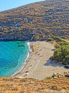 Sikamia beach, Kea - I slept on this beach many years ago Wonderful Places, Beautiful Places, Athens Guide, Greek Sea, Places In Greece, Paradise On Earth, Greece Islands, Beaches In The World, Island Beach