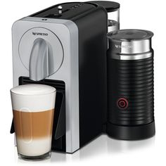 Nespresso D75-US-SI-NE Prodigio With Milk Espresso Maker, Silver -- This is an Amazon Affiliate link. Click image for more details.