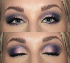 Top line out to edge purple eye makeup |Pinned from PinTo for iPad|