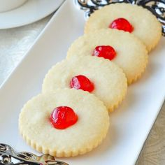 These old fashioned buttery shortbread cookies are just like your grandmother would make...because they are a grandmother's recipe. A simply perfect cookie.