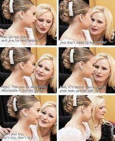 Christi being a great mom.  I found it sad that Christi had to tell Kenzie that she was good enough and Mackenzie, her own mom couldn't do it.