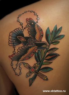 XK Tattoo. Moscow, Russia.