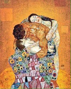 Gustav Klimt「The Family」