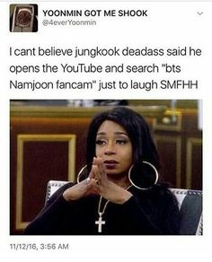 HAHAHAHA I WOULD TOO JUNGKOOK I UNDERSTAND YOU!
