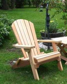 Adirondack chairs on pinterest adirondack chairs teak for Adirondack chaise lounge plans