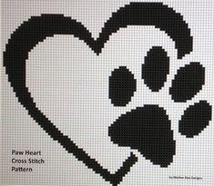 Paw heart