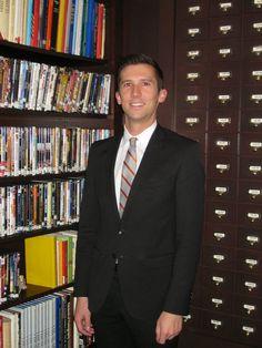 Rob, Director of Sales & Marketing and Honorary Librarian at the #LibraryHotel.