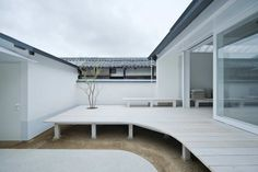 White Dormitory For Il Vento / Koichi Futatsumata (great re-interpretation of the traiditional)