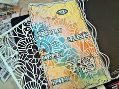 Jorunns fristed: Mandags Art Journaling uke 23 Art Journaling, Art Diary, Art