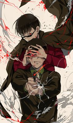 Hey! I love these! But, who they are?<Osomatsu and Choromatsu from Osomatsu-san