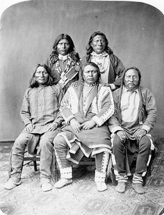 Ute Indian: Chief Ouray, with other chiefs. Utes lived in Colorado Utah Native American Images, Native American Beauty, Native American Tribes, American Indian Art, Native American History, Native Americans, African Americans, First Nations, Native Indian