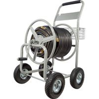 Roughneck Hose Reel Cart — Holds 400ft. x 5/8in. Hose