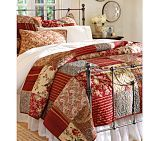 Savannah Bed & Headboard / Pottery Barn / bedroom