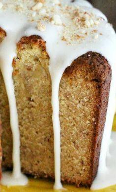 Banana Pound Cakes on Pinterest