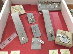 New Michou sterling silver and colored gemstone jewelry at Gemstone Creations.