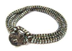 FREE Project: SuperDuo Wrap Bracelet - from my favorite designer Jill Wiseman