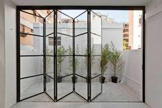 ideas for french door design balcony Steel Windows, Steel Doors, Crittal Doors, Crittall Windows, Kitchen Doors, Bi Folding Doors Kitchen, Pantry Doors, Door Design, Glass House Design
