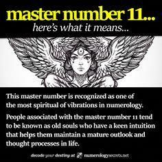 Learn more at numerologysecrets& Master Number 11 Deciphered. Learn more at numerologysecrets& Source by junglebeaches The post Master Number 11 Deciphered. Learn more at numerologysecrets& appeared first on Rose Secret. Life Path 11, Life Path Number, Numerology Numbers, Numerology Chart, Life Challenge, Master Number 11, Tarot, What Is Birthday, Numerology Compatibility