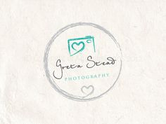 Premade Photography logo design and photography by AquariusLogos, $15.00