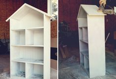 I've been so excited to share this little project that my husband and I have been working on for the past week. We converted thisbookshelffrom Wayfair into a dollhouse/bookshelf for our two youngest girls for Christmas and I just love how it turned out! We'll be adding dollhouse furniture to it and they'll use it …