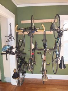 1000 images about mountain bike on pinterest bike for Apartment garage storage
