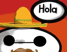 This project  was a request for a child that who was or still is learning Spanish. Something fun, bright, and friendly.