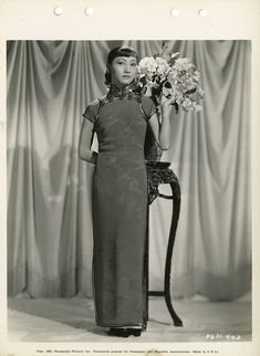 Key-book portraits of Anna May Wong by Eugene Robert Richee. 1930s Fashion, Vintage Fashion, Women's Fashion, Orientation Outfit, Anna May, Chinese Style, Chinese Art, Vintage Photography, Photography Ideas