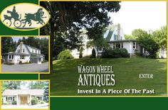 Wagon Wheel Antiques, located on Route 8 between Butler and Pittsburgh