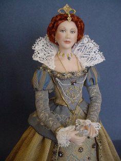 THROUGH THE YEARS - QUEEN ELIZABETH 1: Golden Glorianna (Close up) | Flickr - Photo Sharing!