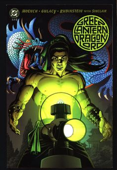 Green Lantern Dragon Lord #1 Doug Moench,Paul Gulacy, Ancient China,Hal Jordan,Alan Scott,Jong Li,Science Fiction, Illustrated DC Comics